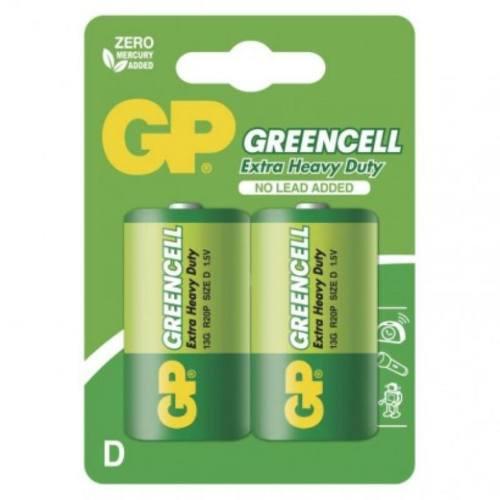 Batéria GP 13G R20 D, blister