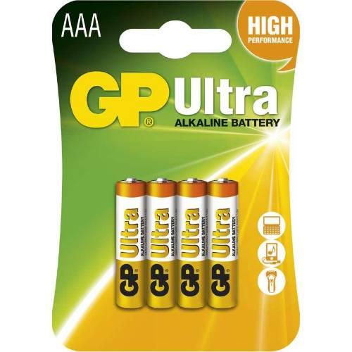 Batérie GP 24AU LR03 AAA, blister