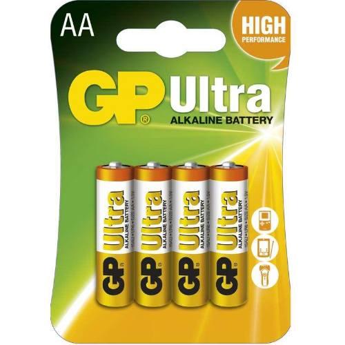 Batérie GP 15AU LR6 AA, blister