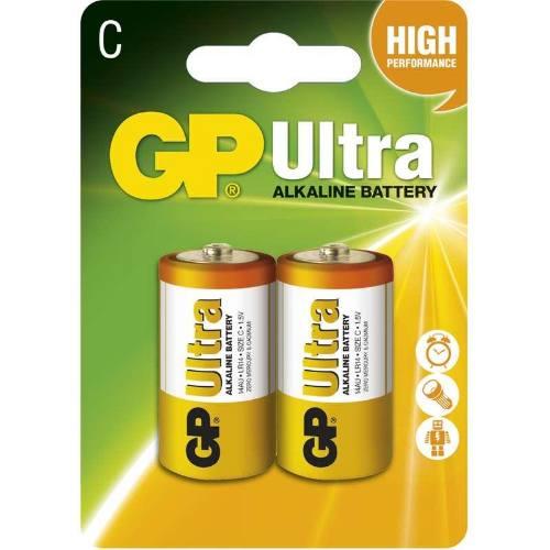 Batéria GP 14AU LR14 C, 2BL, blister