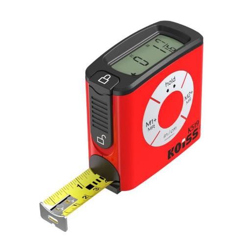 Meter zvinovací digitálne K519, 5 mx 19 mm, KOISS