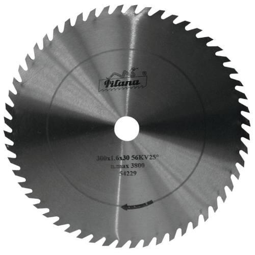 Kotúč pílový na drevo, 5310 - 56 zubov KV25 °, 550 x 3,5 x 30 mm