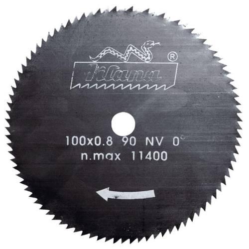 Kotúč pílový 5314 - NV, Ø 100 x 0,9 x 10 mm, 90 zubov, ručné, PILANA