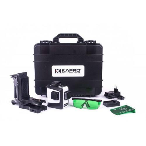 Laser krížový kaprov GREEN ProLaser 3D ALL-LINES, 3 lúčmi 27641