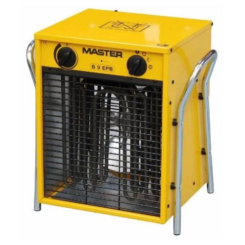 Ohrievač elektrické s ventilátorom B 9 EPB, 9 kW, MASTER
