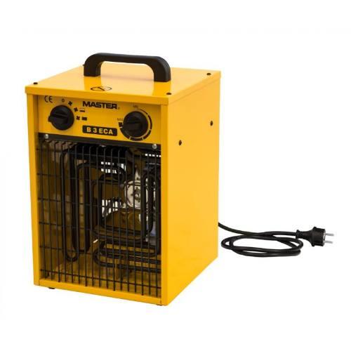 Ohrievač elektrické s ventilátorom B 3 ECA, 3 kW, MASTER