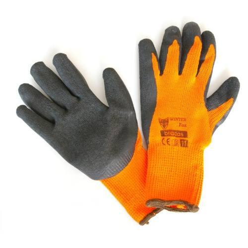 Rukavice pracovné zimné WINTER Fox, vel.10