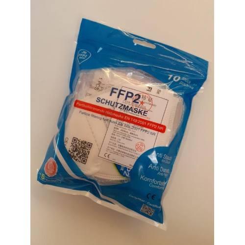Respirátor bez ventilu, FFP2