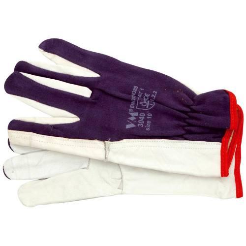 Rukavice VM jahňaciny - textil, veľkosť 10 - 3040