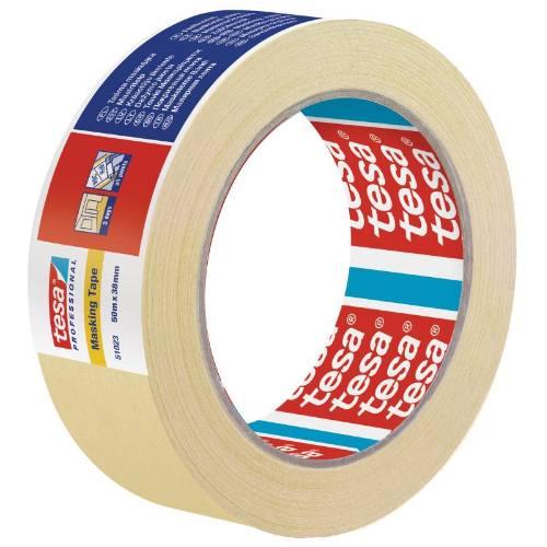 Páska maskovacia 51023, odstrániteľná do 3 dní, 50 mx 19 mm, žltá