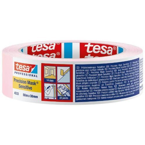 Páska maskovacia na citlivé povrchy 4333 Sensitive, 50 mx 30 mm, ružová