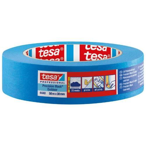 Páska maskovacia na okná 4440, UV 26 týždňov, 50 mx 30 mm, modrá