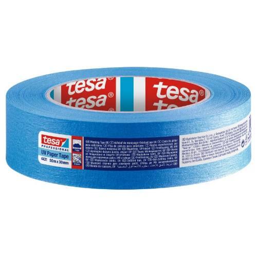 Páska maskovacia 4431, 30 mm x 50 m, modrá