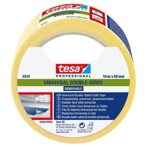Páska obojstranná lepiaca 4939, 10 mx 50 mm, odstrániteľná, biela