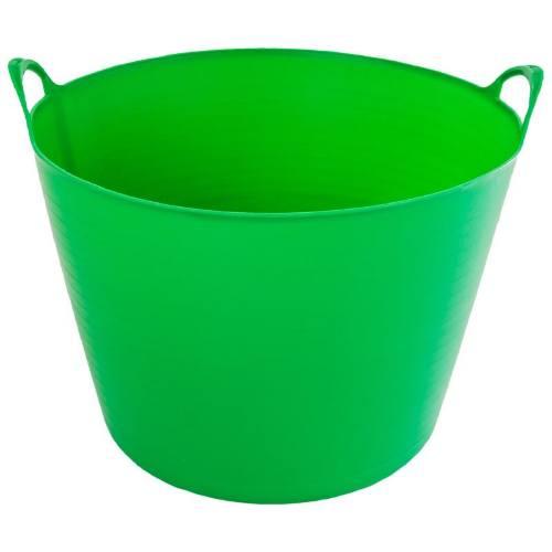 Nádoba plastová s 2 úchyty, 27 l, zelená, ENPRO