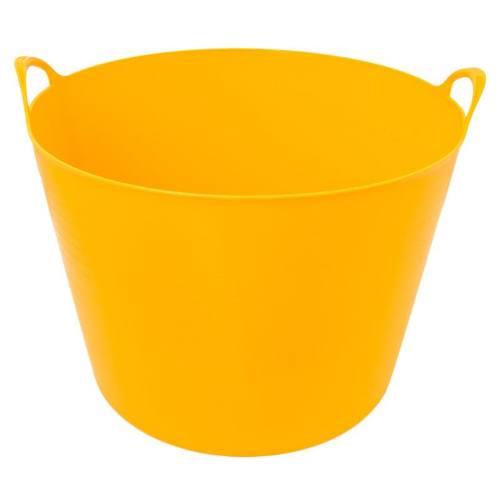 Nádoba plastová s 2 úchyty, 27 l, žltá, ENPRO