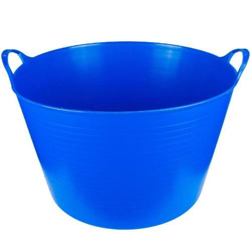 Nádoba plastová s 2 úchyty, 27 l, modrá, ENPRO