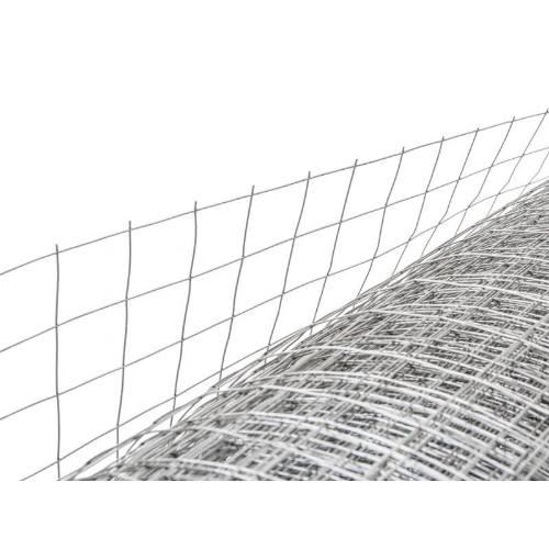 Pletivo rabicové zvárané, 25 x 25 x 0,8 mm, 1 x 50 m