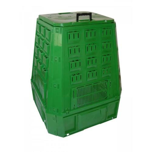 Kompostér, 420 l, 885 x 888 x 800 mm, zelený