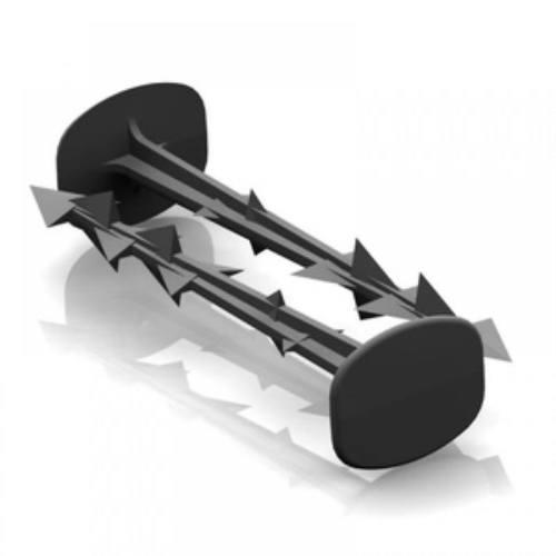 Kolík kotviace plastový 15 cm, 50 ks, Truska