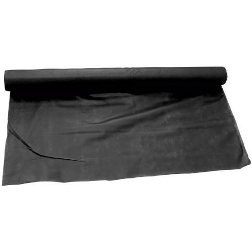 Textílie netkaná, 1,6 x 10 m, 50 g / m2, čierna