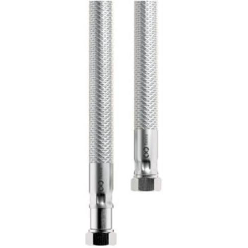 Hadica nerez s otočnou koncovkou - plyn, 2000 mm, G1 / 2-G1 / 2 (T)