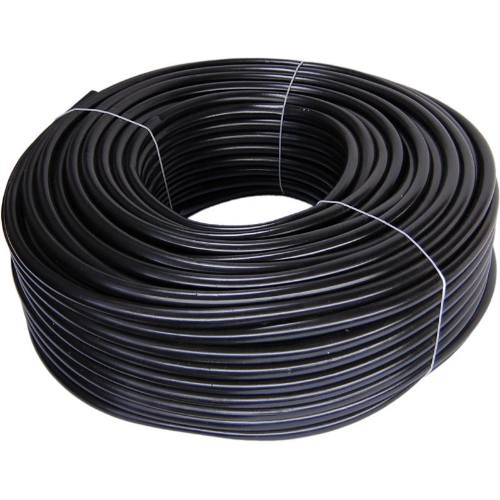 Hadica technická 100 m, čierna - PVC