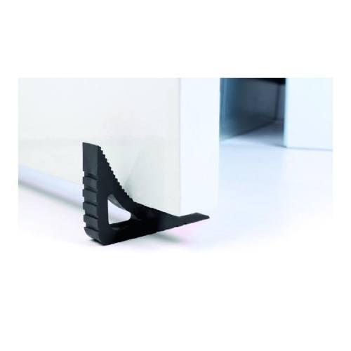 Zarážka dverové a okenné BLOCKYSTAR, čierna
