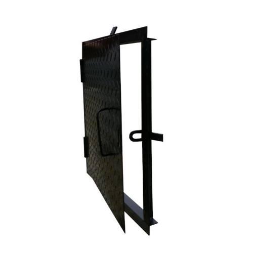 Poklop na šachty, 50 x 50 cm, čierna