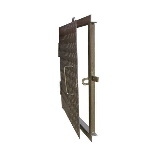 Poklop na šachty, 50 x 50 cm, strieborná