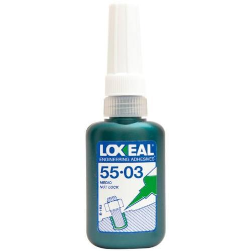 Lepidlo na zaisťovanie skrutiek LOXEAL, 55.03, 10 ml