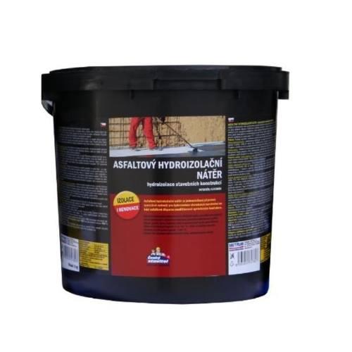 Náter asfaltový hydroizolačné, 5 kg