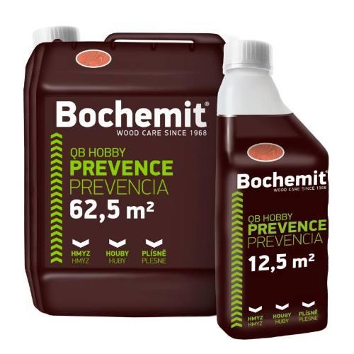 Bochemit QB Hobby hnedý, 1 kg, preventívna ochrana dreva