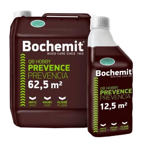 Bochemit QB Hobby zelený, 1 kg, preventívna ochrana dreva