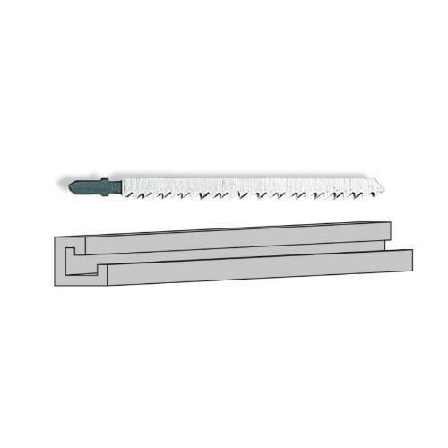 List pílový na hliník L20 k S 90 PE / S 110 PE / S - 3 ks, STAYER