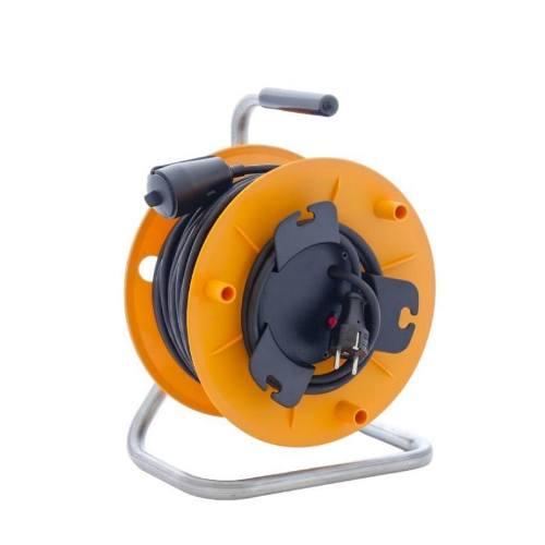 Kábel predlžovací HOBBY PKB275S, 50m / 230V, cievka, 1 zásuvka