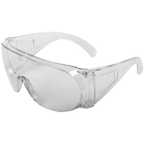 Okuliare ochranné, číre