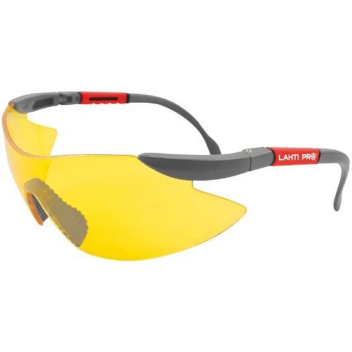 Okuliare ochranné, žlté, nastaviť. + Sáčok