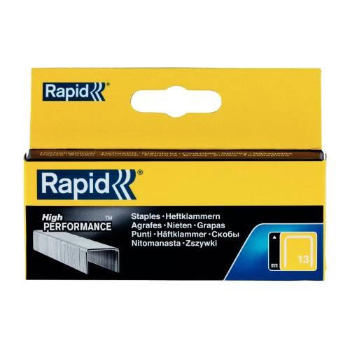 Spony High Performance, 13/6 mm, 1650 ks, blister, RAPID