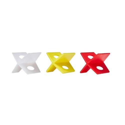 Krížiky dištančné plastové, 1,5 mm, 100 ks, LEVELYS