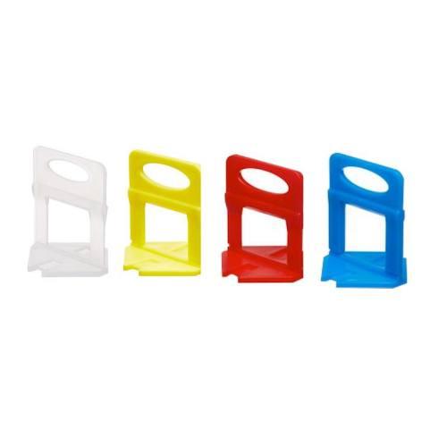 Spony obkladačské plastové, 1,5 mm, 100 ks, 3 - 12 mm, LEVELYS
