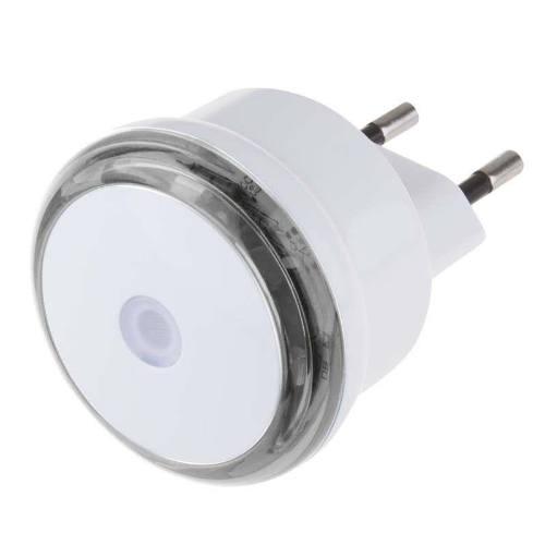 Svetlo nočné do zásuvky 3 LED, 230V, s fotosenzorov