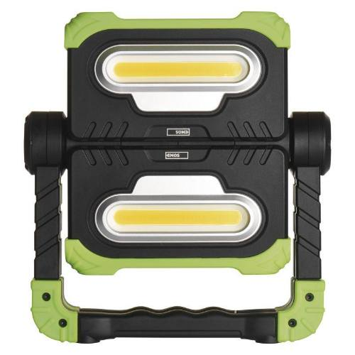 Reflektor 2 x COB LED nabíjacie 8000 mAh, 2000 lm