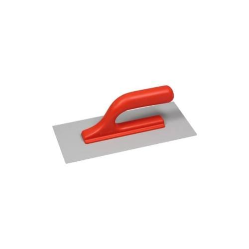 Hladidlo plastové hladké, 270 x 130 mm, otvorená plastová rukoväť