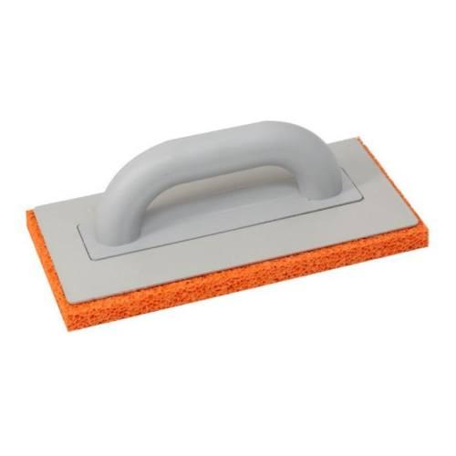 Hladítko s hubou oranžovou, 280 x 140 mm, obyčajná rukoväť
