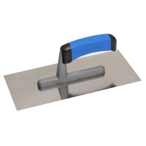 Hladidlo nerez hladké, 270 x 130 mm, gumová rukoväť M