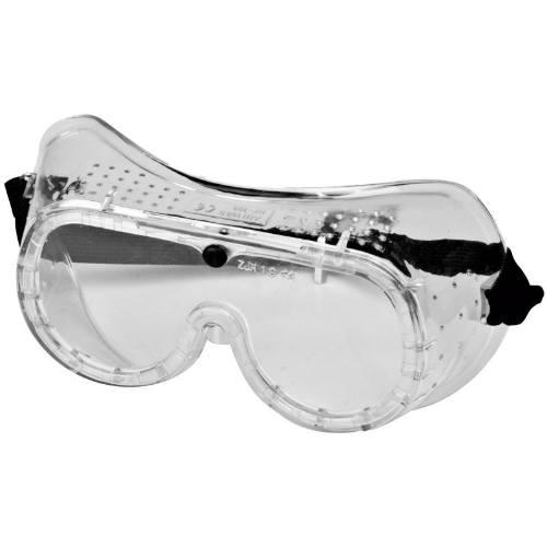Okuliare ochranné uzavreté, mechanická odolnosť S