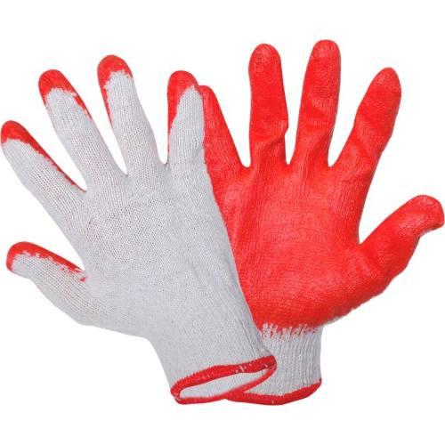 Rukavice LATEX, červené, vel.9, LAHTI PRO