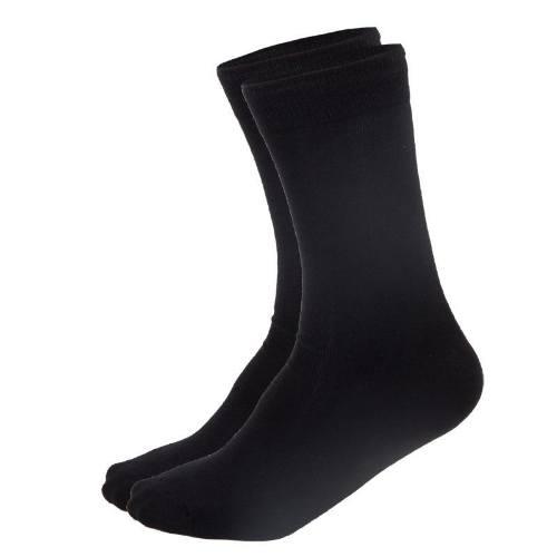 Ponožky tenké, 3 páry, veľ. 43-46, čierne