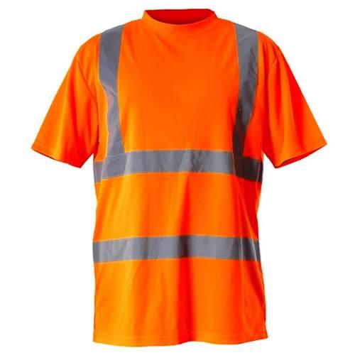 Tričko reflexné, oranžovej, M, LAHTI PRO